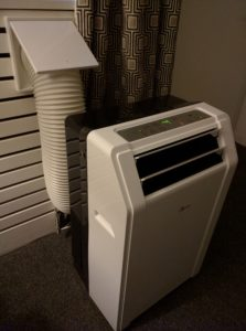 In room A/C
