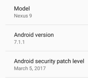 Android 7 Nougat details